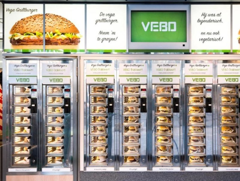 Vegetarische grillburger