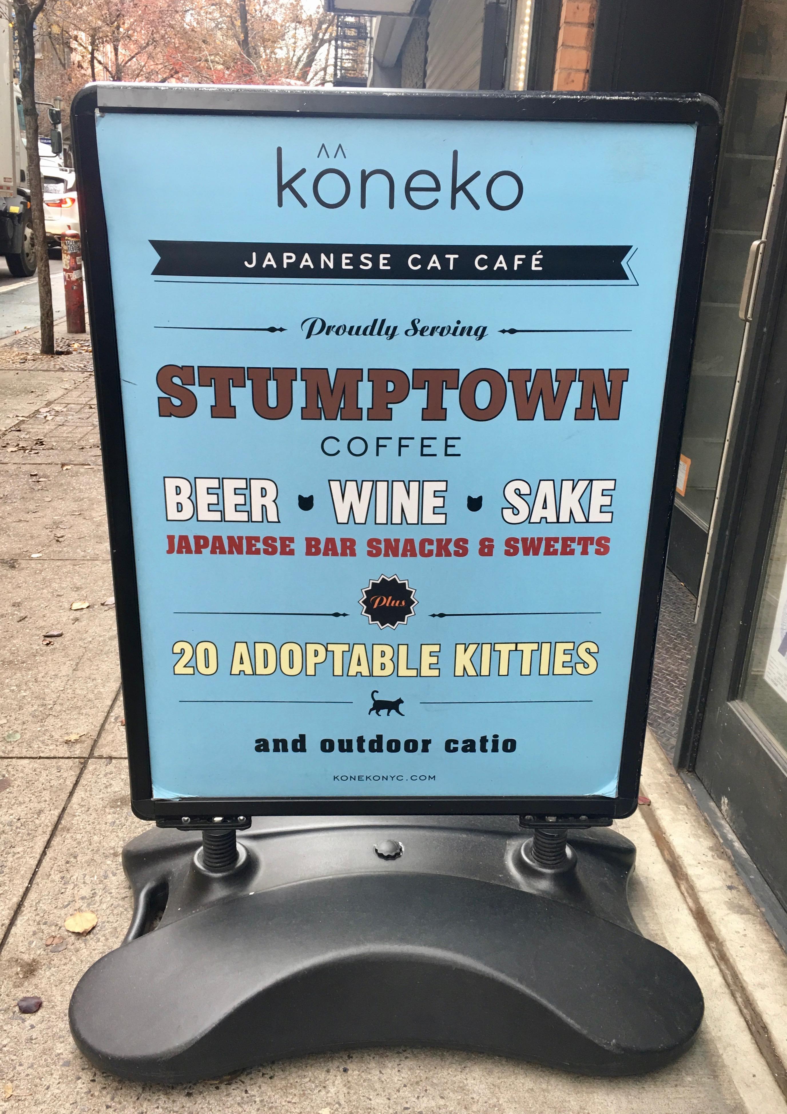 Japans kattencafe New York